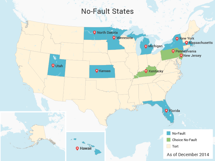 What Is No-Fault Insurance & Which States Have It?