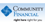 Community Financial Bank 3 year CD