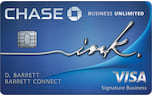 ink business unlimited credit card