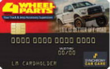 4 wheel parts credit card