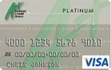 a plus federal credit union secured credit card