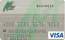 a plus federal credit union visa business bonus rewards credit card