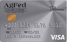agriculture federal credit union visa platinum with rebate