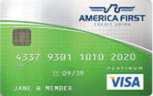 america first credit union visa platinum cash back credit card