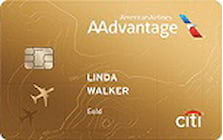 american airlines aadvantage gold credit card