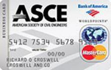american society of civil engineers business credit card