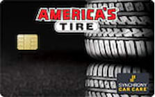 americas tire credit card
