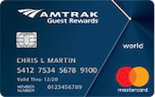 amtrak credit card