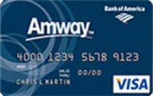 amway global credit card