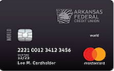 arkansas federal credit union world mastercard