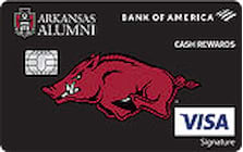arkansas university credit card
