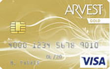 arvest bank visa gold credit card