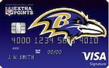 baltimore ravens credit card