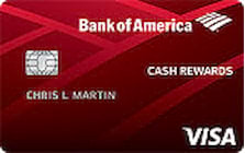 bank of america cash rewards students credit card