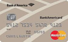 bank of america student platinum plus visa credit card