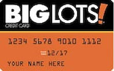 big lots credit card