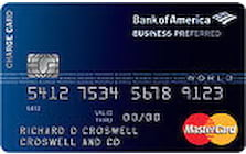 business preferred charge card