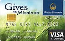 christian community credit union credit card