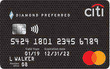 citi diamond preferred card
