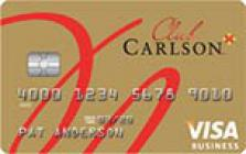 club carlson business rewards credit card