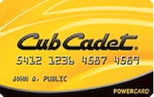 cub cadet credit card