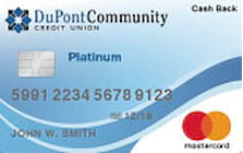 dupont community credit union platinum cash back credit card