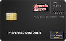 electronic express credit card