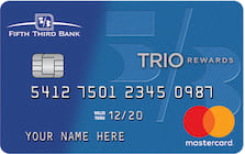 fifth third bank cash rewards mastercard credit card