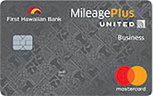 first hawaiian bank united mileageplus business credit card