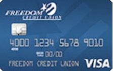 freedom credit union student credit card