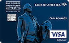 george washington university credit card