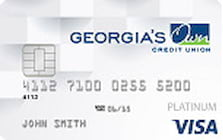 georgias own credit union student credit card