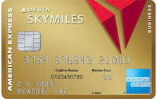 gold delta skymiles business credit card