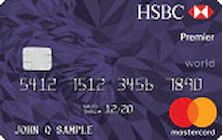 hsbc premier world mastercard credit card