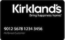 kirklands credit card