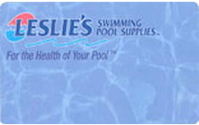 leslie s swimming pool supplies credit card