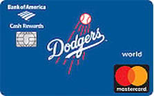 los angeles dodgers credit card