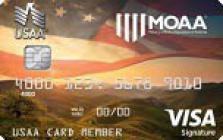 military officers association of america credit card