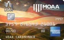 moaa rewards american express credit card