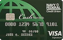 navy federal credit union cashrewards credit card