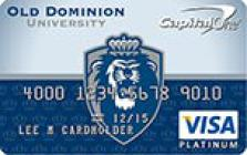 old dominion university odu credit card