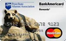 penn state university credit card