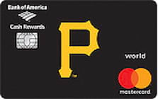 pittsburgh pirates credit card