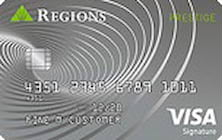 regions visa signature credit card