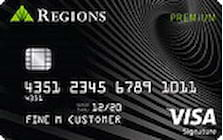 regions visa signature preferred credit card