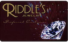 riddles jewelry credit card