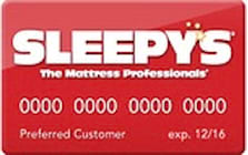 sleepys credit card