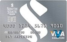 south state bank visa signature real rewards card