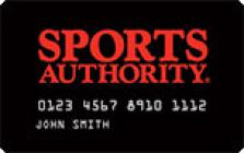 sports authority store card