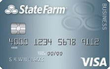 state farm bank visa business card